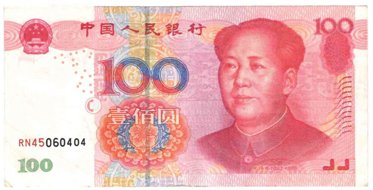 China is looking to make the Chinese Yuan a major world currency.