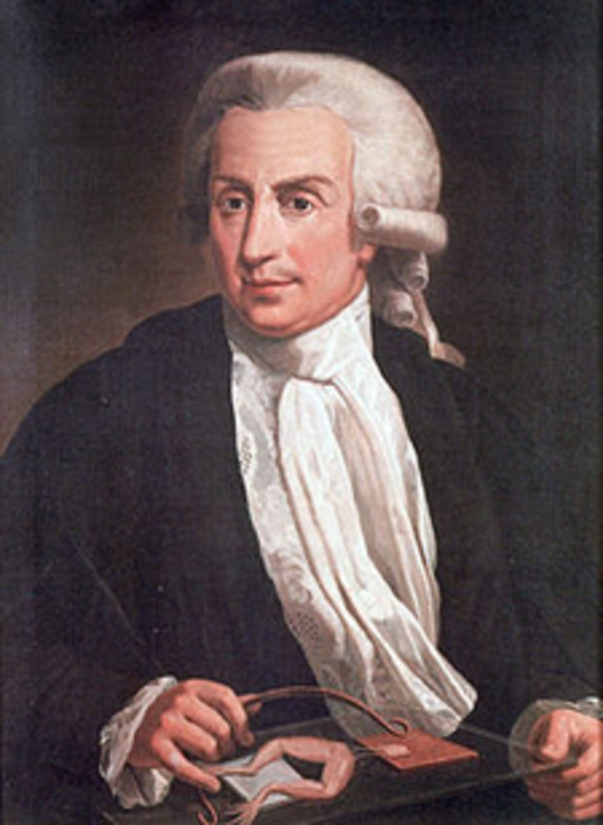 Luigi Galvani (Image courtesy https://commons.wikimedia.org/ wiki/File:Luigi_Galvani,_oil-painting)