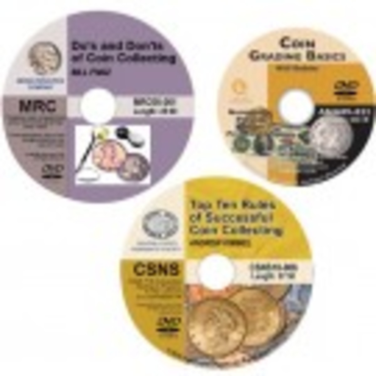 Essentials of Coin Collecting DVD Set