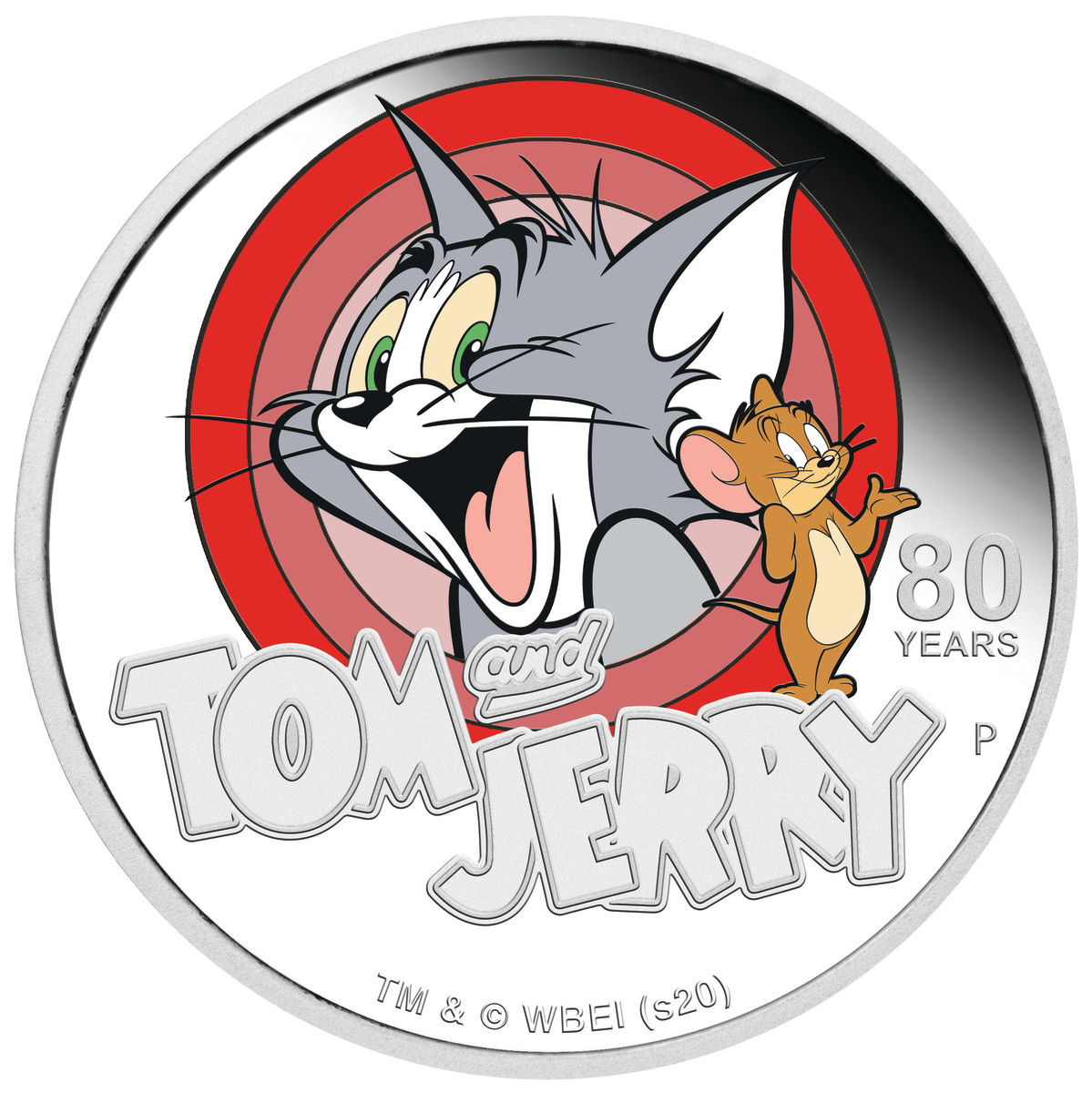 TOM AND JERRY and all related characters and elements © & ™ Turner Entertainment Co. (s20)  Image courtesy Perth Mint