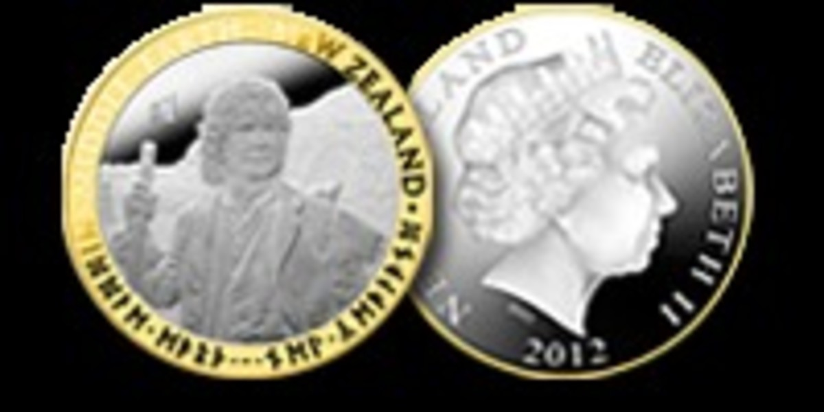 V2-Silver Proof Coin with gold plating c
