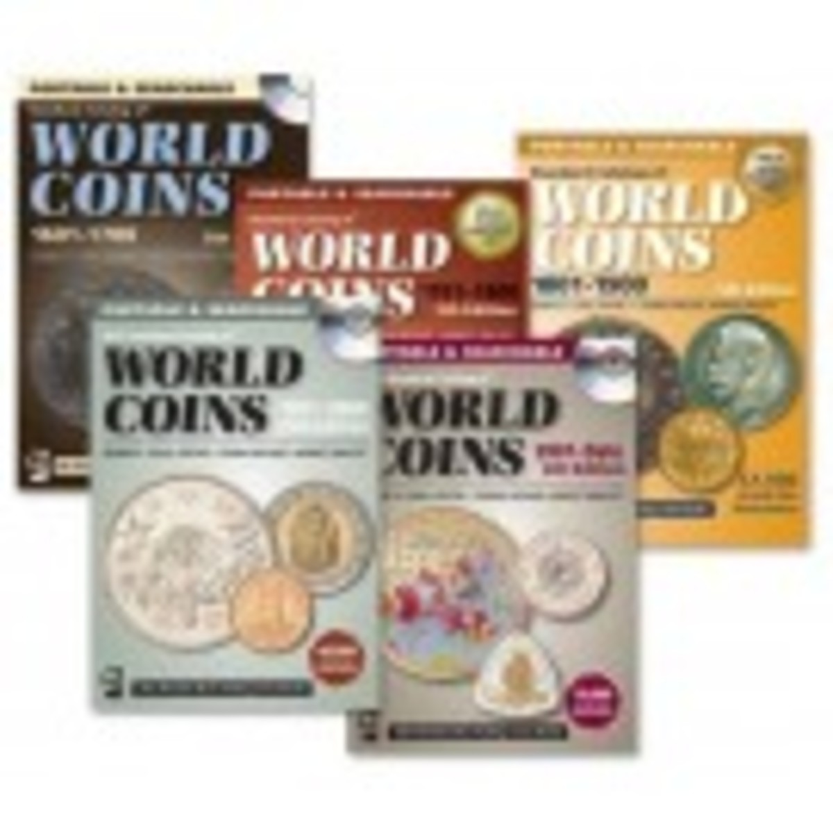 Standard Catalog of World Coins 1601-Date 5 CD Bundle