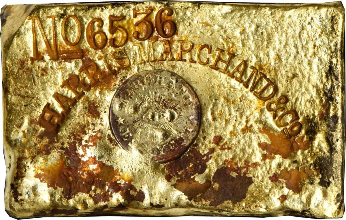 Harris, Marchand and Co. gold ingot