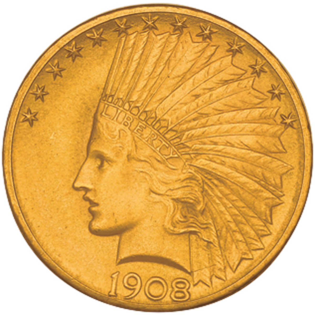 Buying VF or XF $10 Indians might give gold buyers more bang for their buck than simply buying popular bullion coins