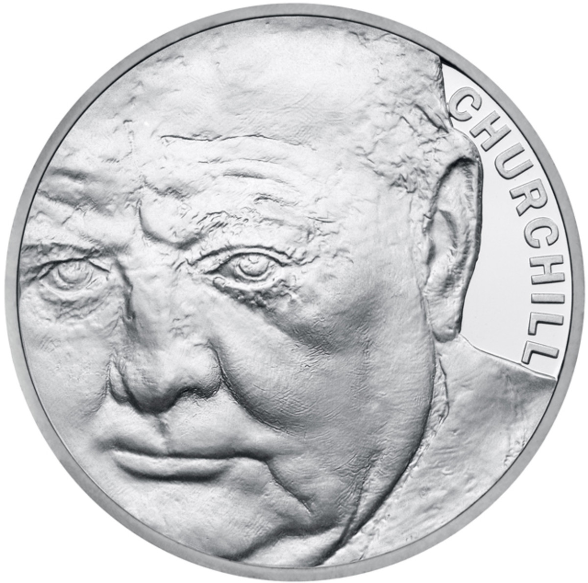 Effigy by Mark Richards on the reverse of the 2015 £5. Image courtesy Royal Mint.