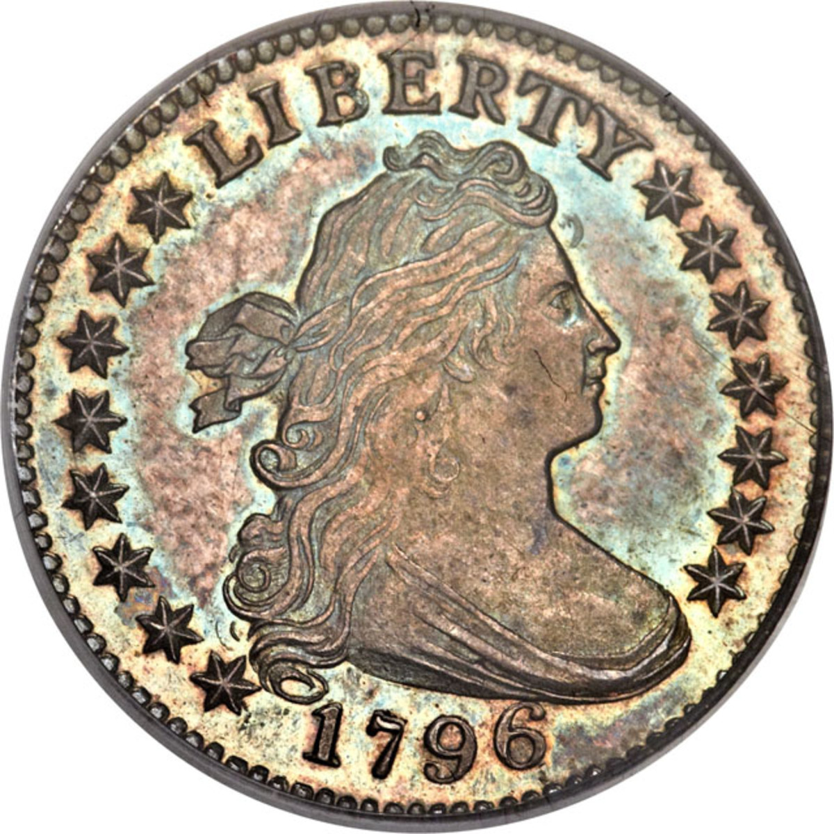 Obverse of the 1796