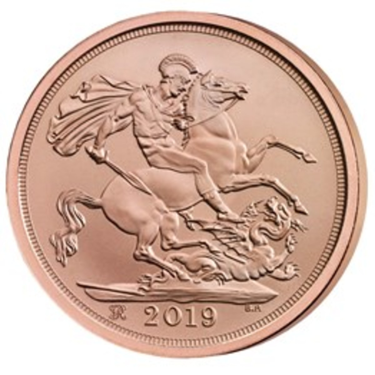 The special 2019 edition of the Sovereign to mark Queen Victoria's 200th anniversary since birth. (Image courtesy of The Royal Mint.)