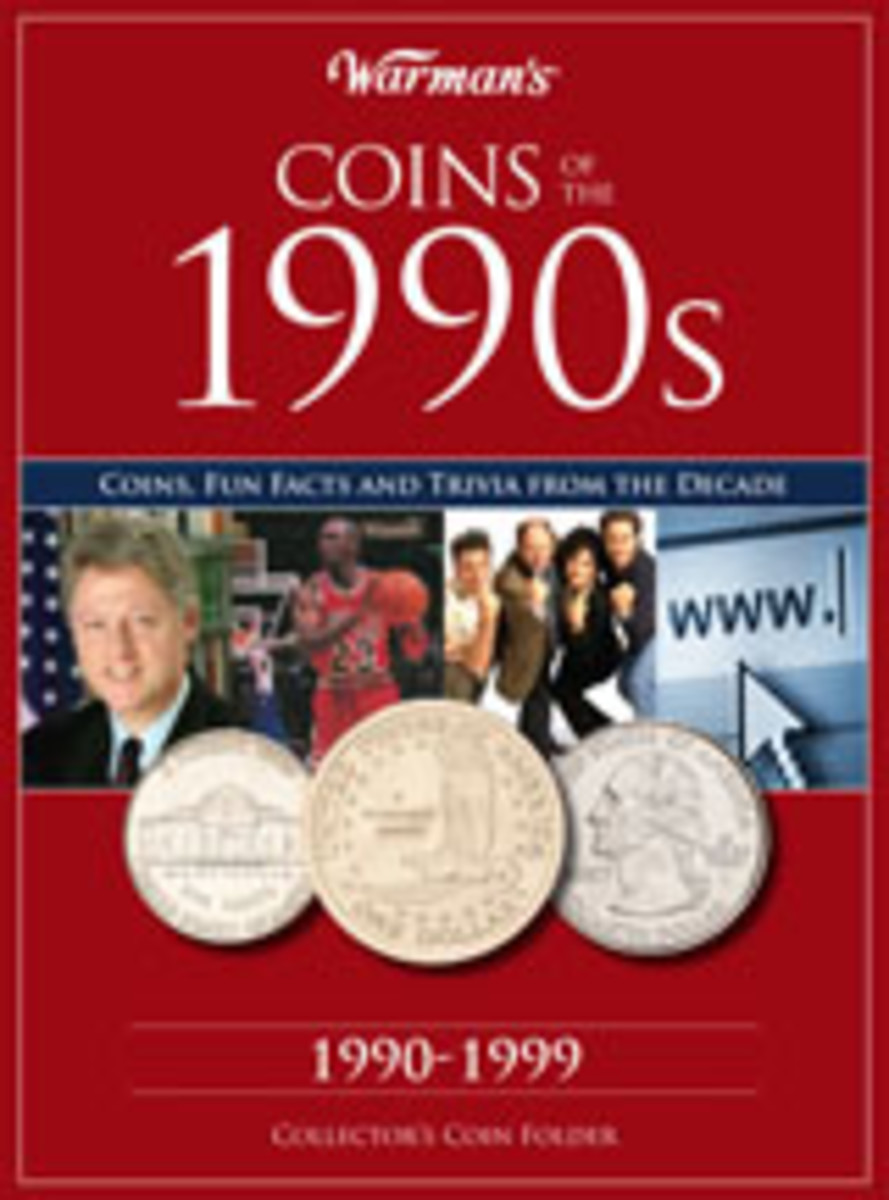 Warman's Coins of the 1990s Coin Folder