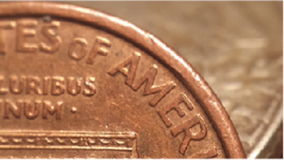 1992-D cent Close AM Wexler Die Pair 2: This was newly discovered and reported by Greg Smith in June.