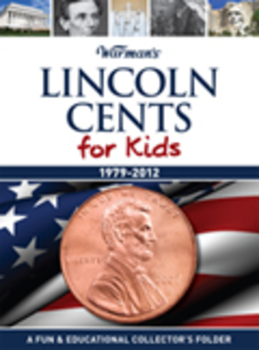 Warman's Lincoln Cents for Kids Coin Folder