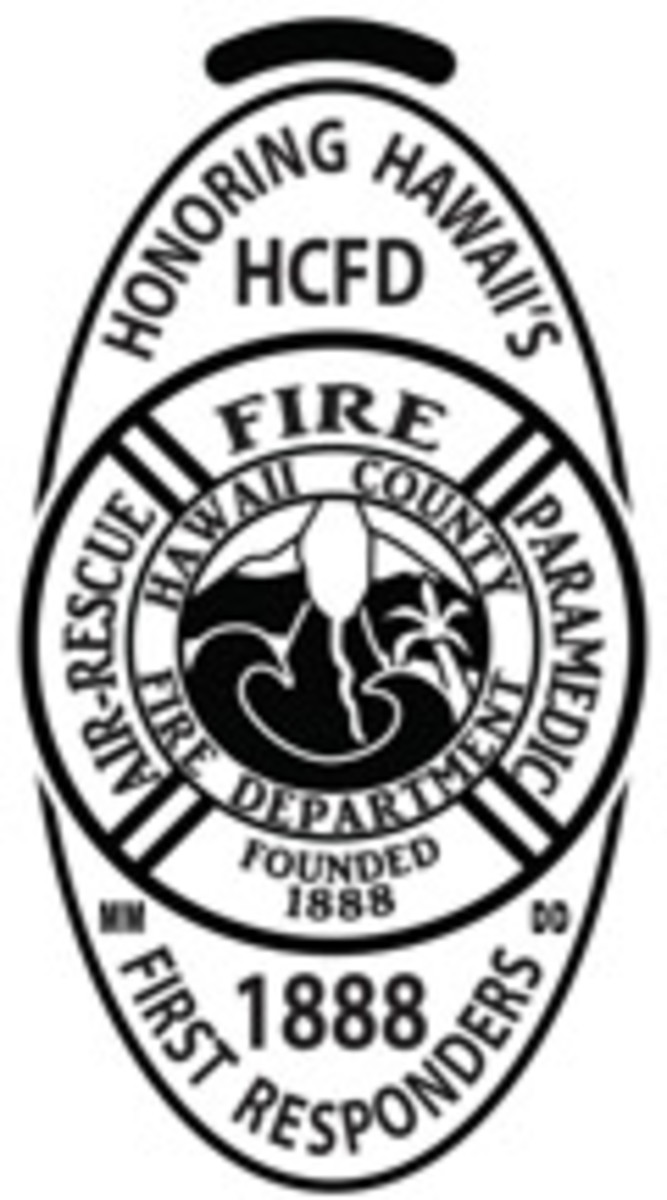 HCFD – Hawaii County Fire Department, established 1888