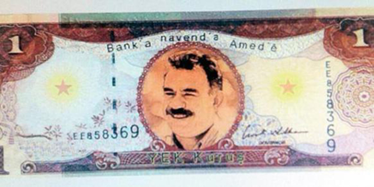 An image supposed to be that of the PKK's currency.