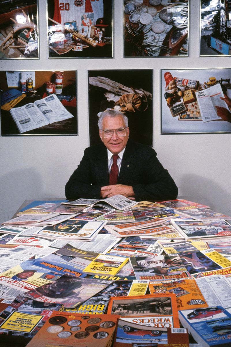 ...to hundreds of titles, Chet Krause helped many collectible hobbies grow, not just coins.