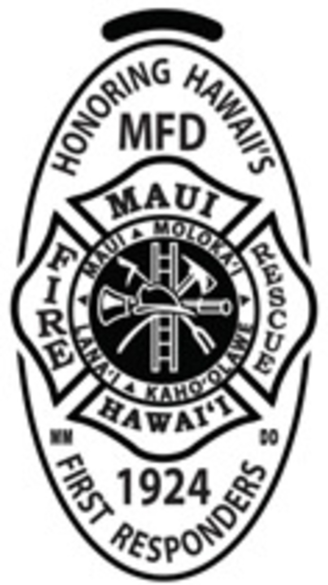 MFD – Maui County Fire Department, established 1924