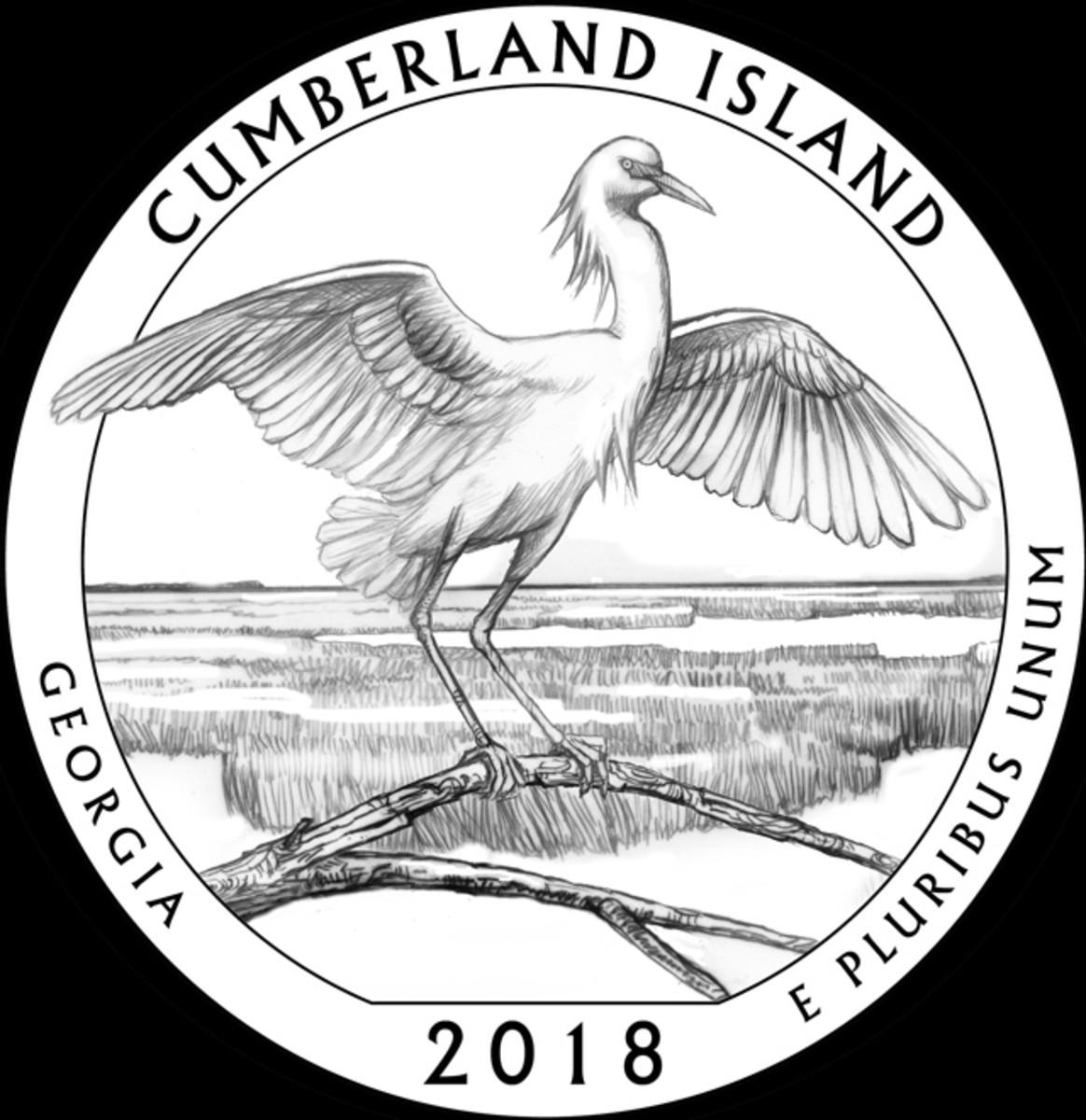 The CFA felt design GA-06's depiction of a snowy egret was dynamic.