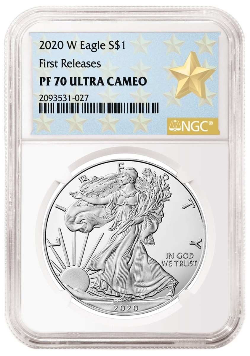 The new West Point Mint Gold Star label. Image courtesy of NGC.