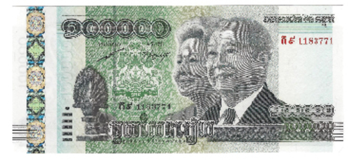 Cambodia says Happy 60th Birthday to King Norodom Sihamoni with this new 100,000-riel note issued by the National Bank.