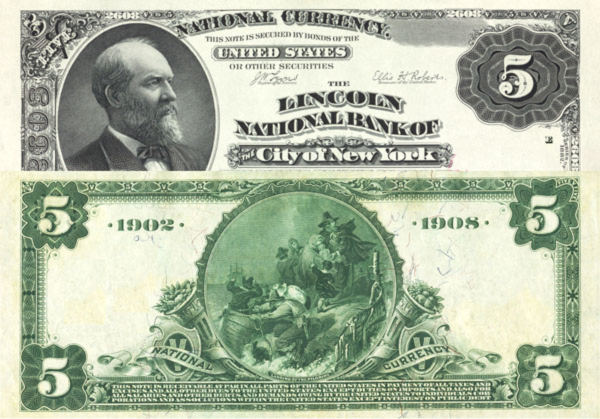 Case 1. This type of national bank note back/face mismatch never has been reported.