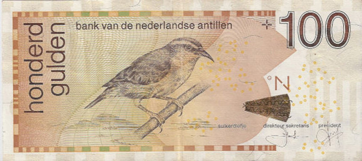 The Central Bank of Curacao and Saint Martin is expediting development of new Caribbean guilder bank notes and coins to replace the Netherland Antilles currency (pictured) still in use.