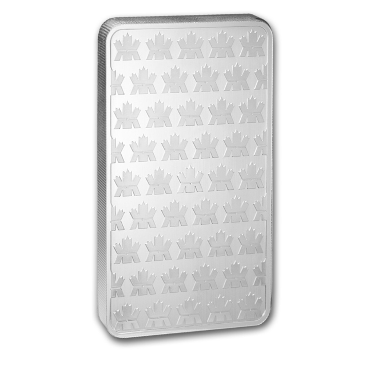 Reverse of the new RCM 10-ounce silver bullion bar (Image used with permission of APMEX)
