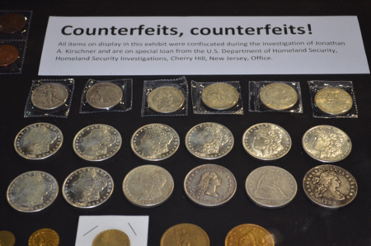 Just how good fakes, Chinese and otherwise, are getting could be seen in a five-case display at the American Numismatic Association convention in August.