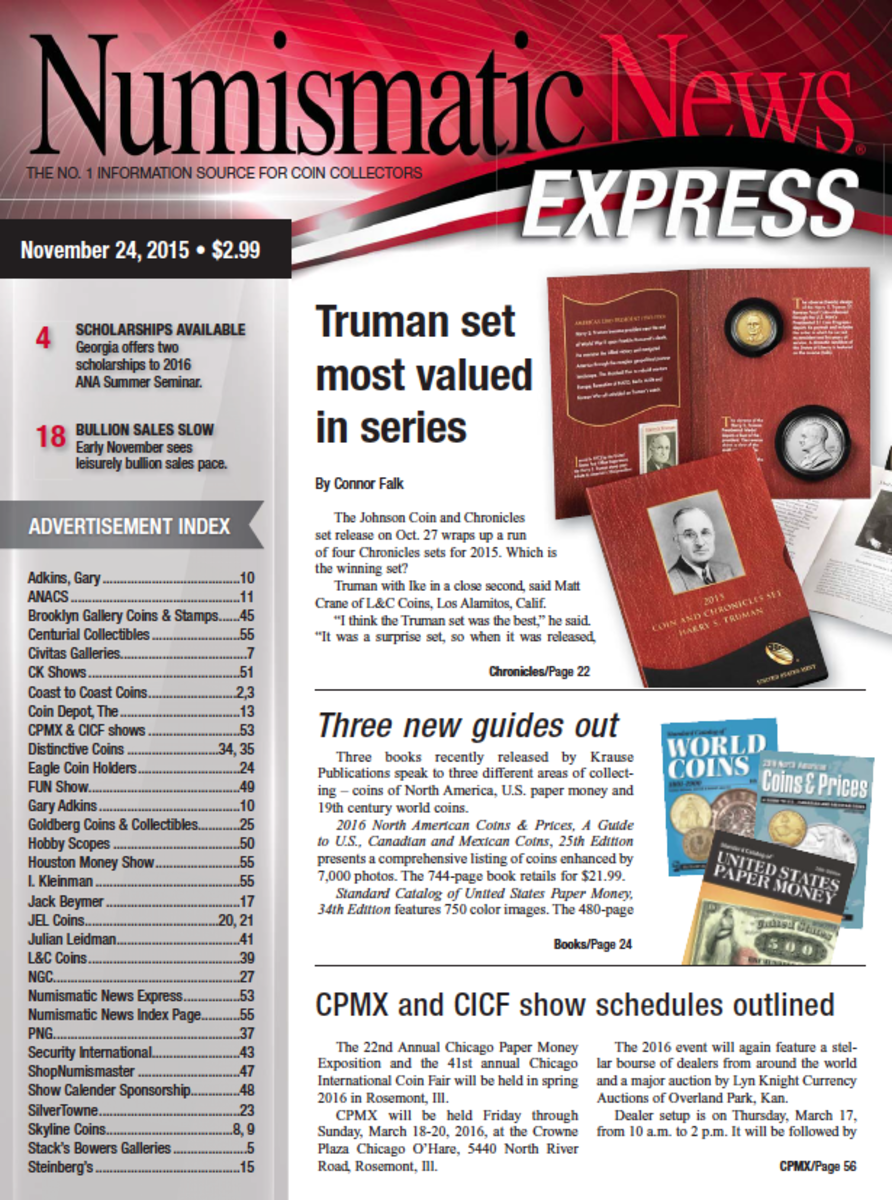 For more great articles like this one, check out the latest issue of Numismatic News Express here!