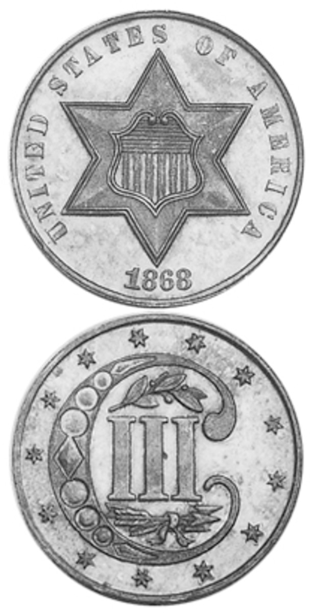 The three-cent silver coin is the tiniest U.S. issue in that particular precious metal.