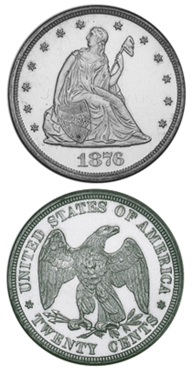 Did anyone like the 20-cent piece when it was struck for circulation 1875-1878? Probably not, but that means collectors of today have an interesting set to assemble.