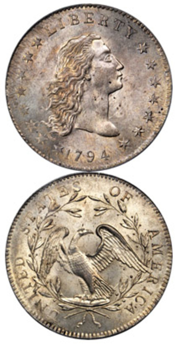 One of only two coins sold for over $1 million in 2017 was the Lord St. Oswald specimen of the 1794 dollar. It realized $2.8 million in Stack's Bowers ANA auction in August.