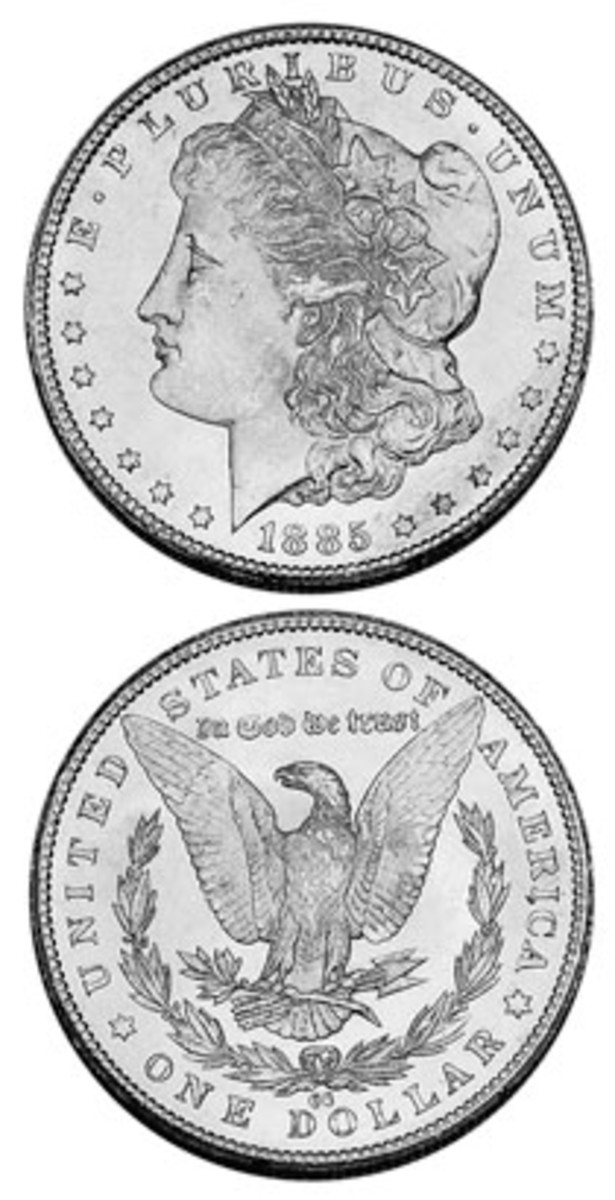 Much of the 1885-CC mintage remained in storage, leaving few to circulate.