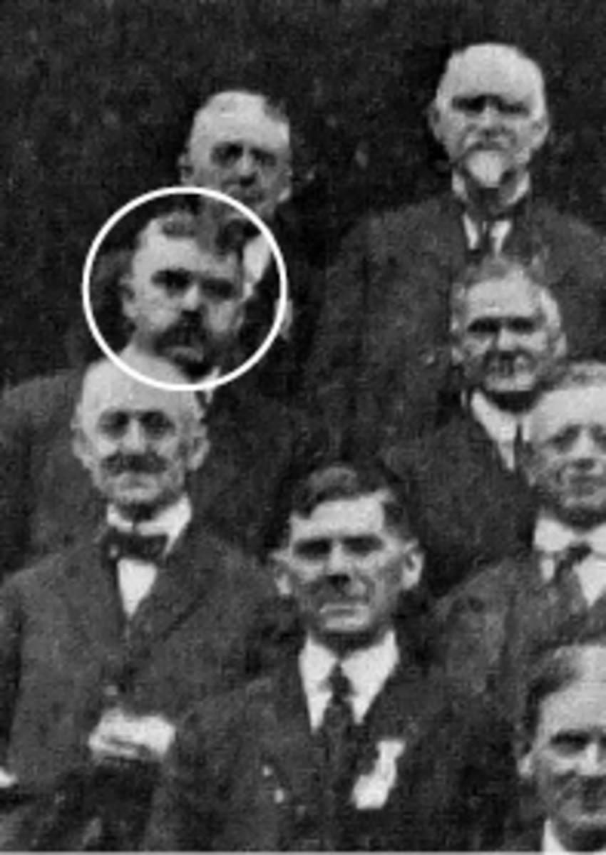 Samuel W. Brown (circled)