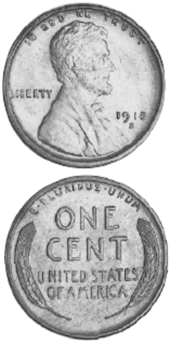 1918-S Lincoln cent