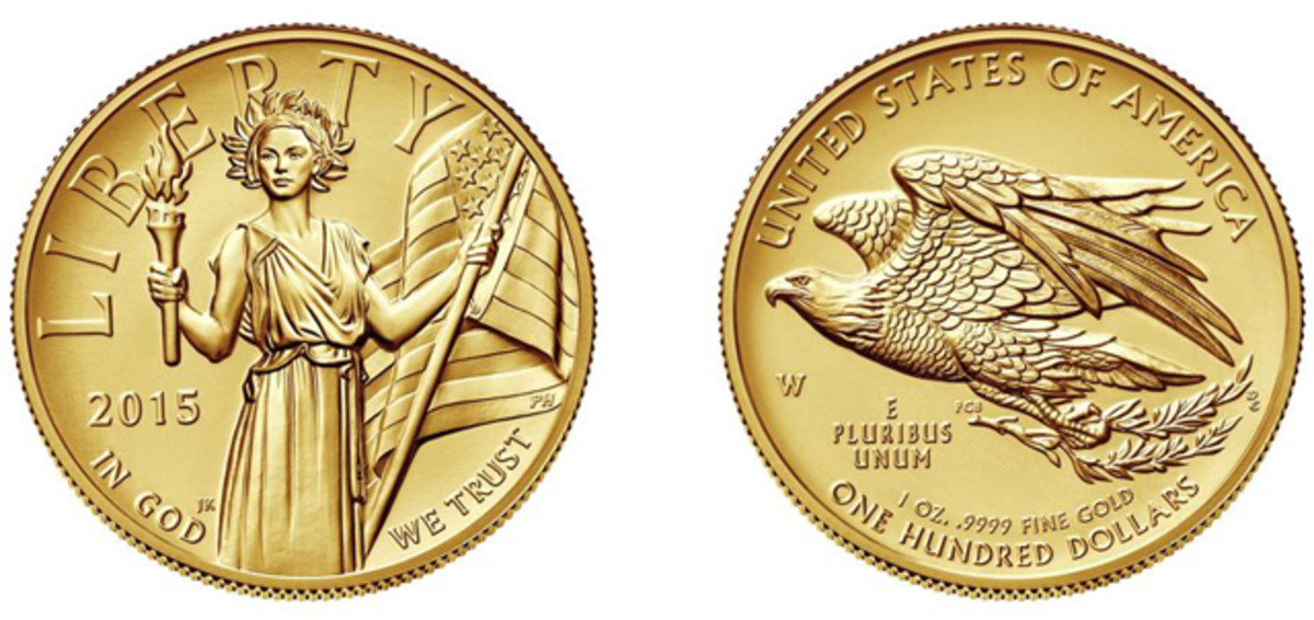 The Mint will release the 2015-W High Relief gold coin July 30.