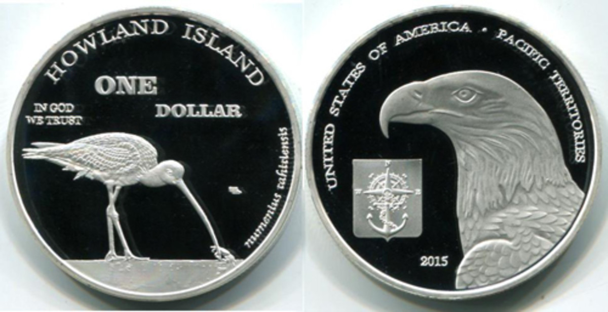 Howland Island coins are collectible, but they are non-circulating commemoratives. (Photo courtesy Joel Anderson.)
