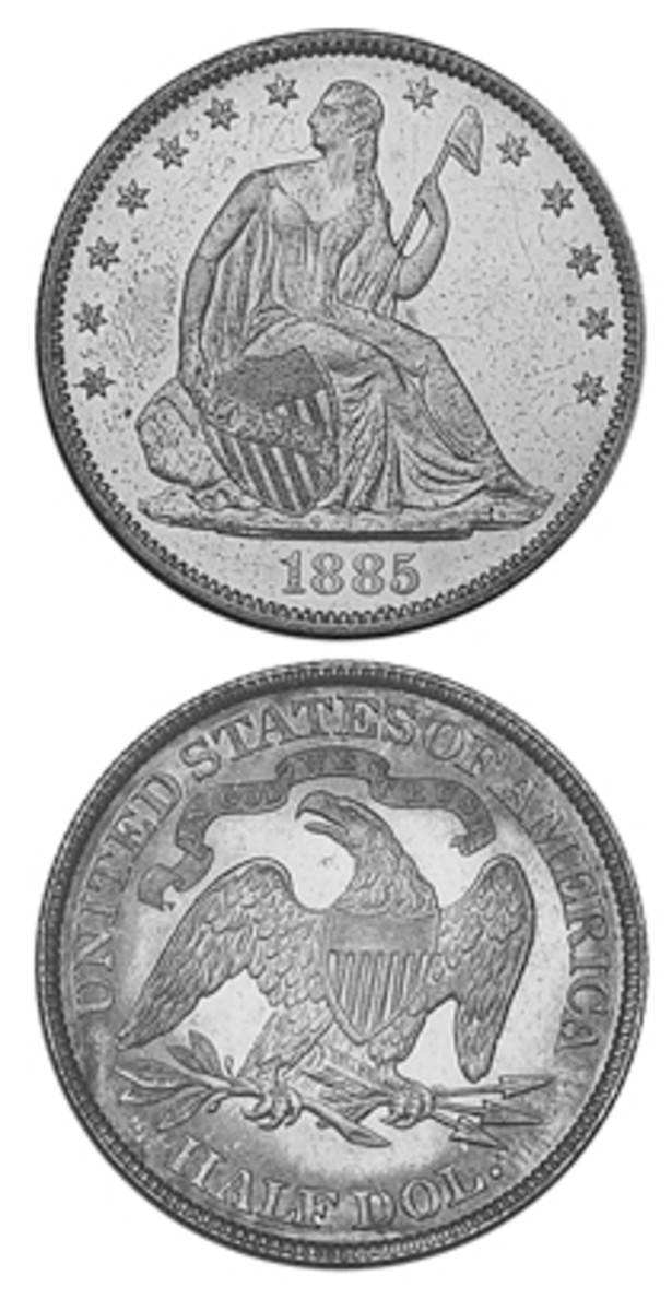 A wave of concern over appearances that the Mint was intentionally creating rarities led to more 1885 half dollars being struck than were needed, even though mintages are considered low today.
