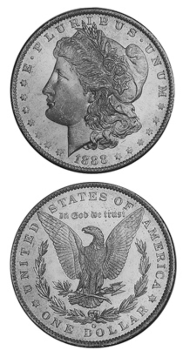 Original bags of 1880-O Morgan dollars did not always contain Mint State coins, resulting in a limited supply of top-grade examples left for collectors on the market today.
