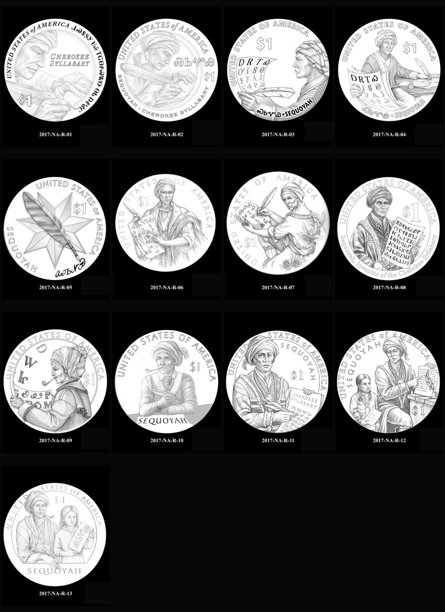 2017 Native American $1 Coin Program