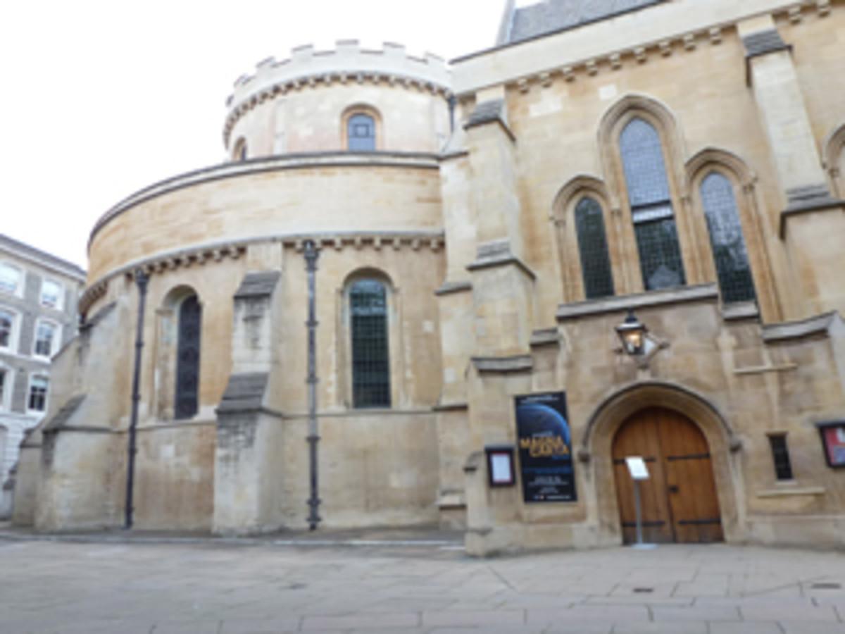 """The """"Da Vinci Code"""" chapel."""