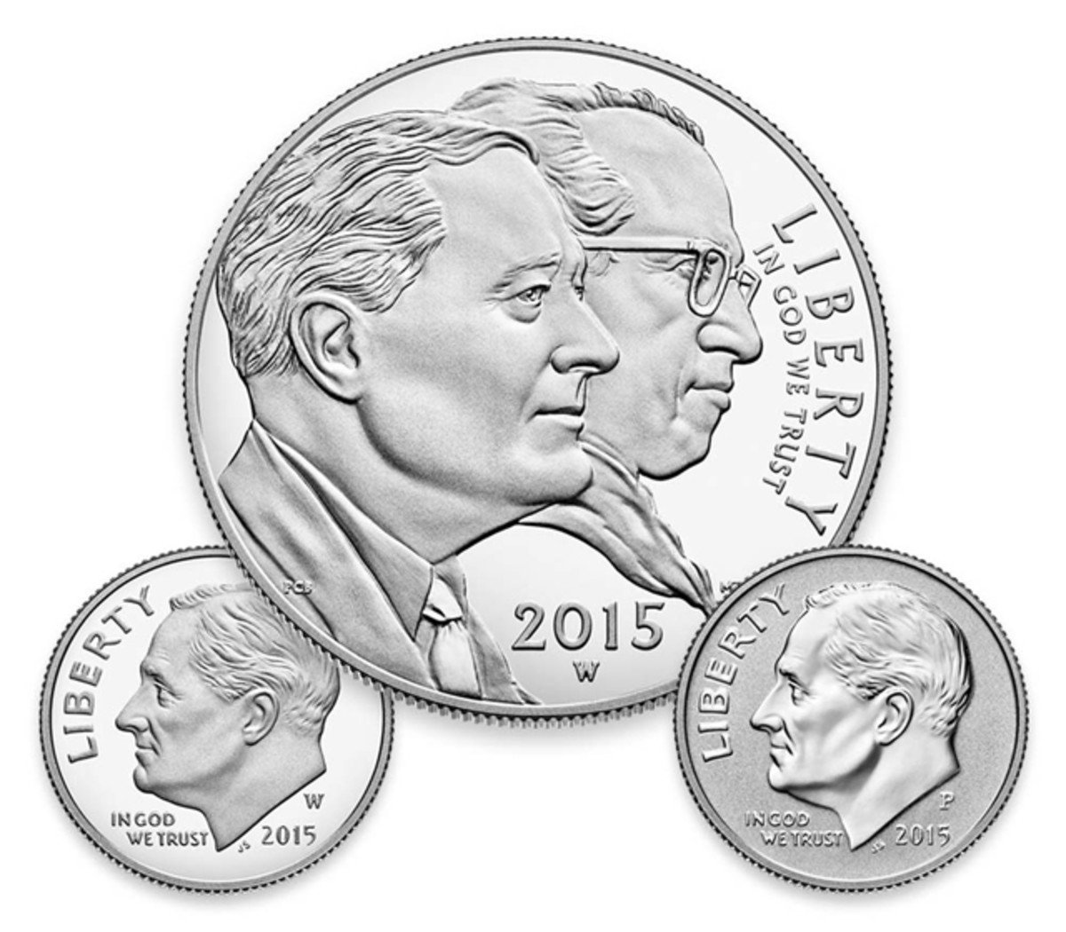 The dimes give this set its value.