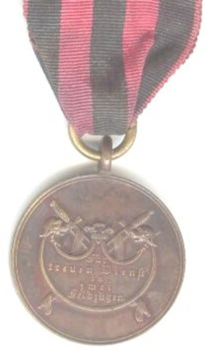 Wuerttemberg Battle Credit Medals