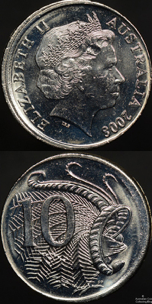 Small change denomination coins are not popular in Australia.