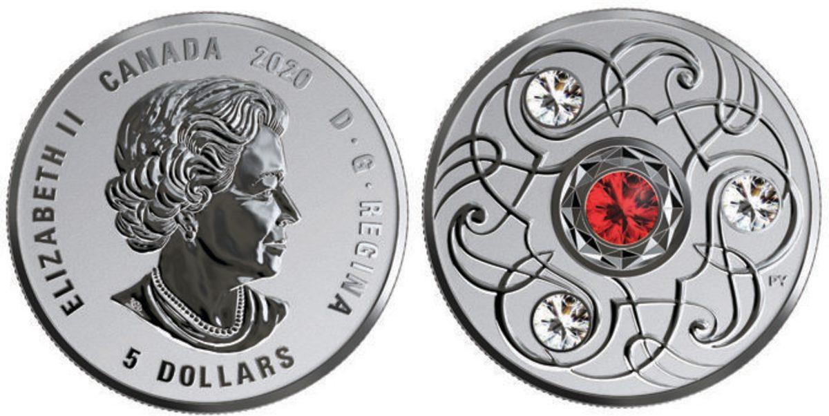 birthstone coin