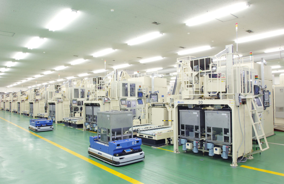 Take a good look at the production floor of the Japan Mint. Regular tours do not get you quite this good a view and during the COVID-19 pandemic, those public tours have been temporarily suspended to avoid potential large group transfer of the virus.