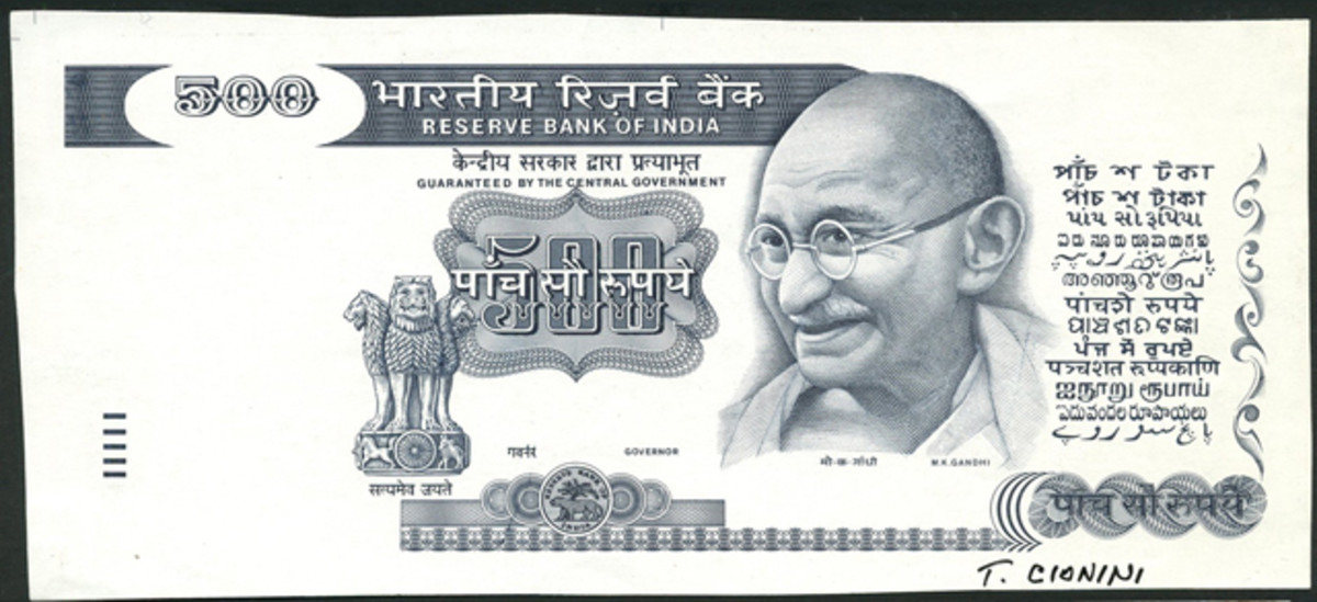 This India 500 rupees