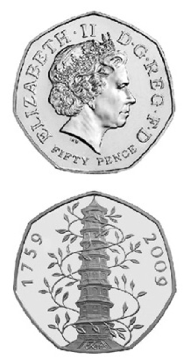 Interest in new issues is alive and well in the United Kingdom. The Kew Gardens 50p is worth about $65.