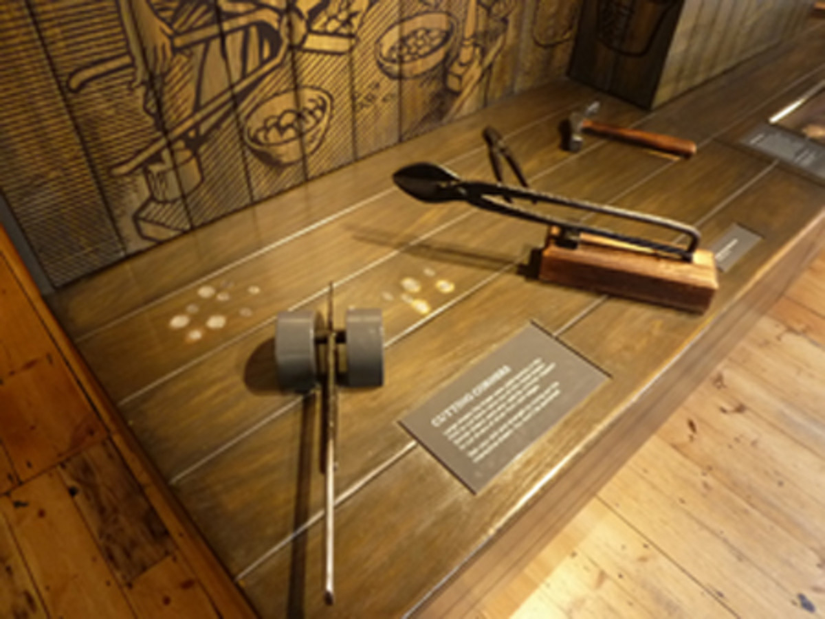Exhibit at the Tower Mint.