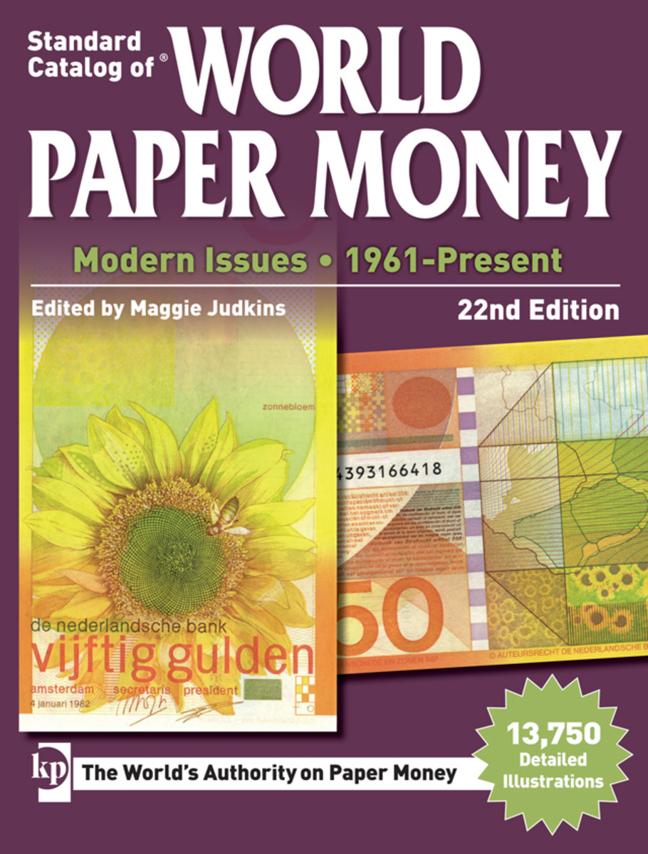 The KP editorial staff has hit the ground running in 2016 with production of the 22nd edition of Standard Catalog of World Paper Money, Modern Issues.