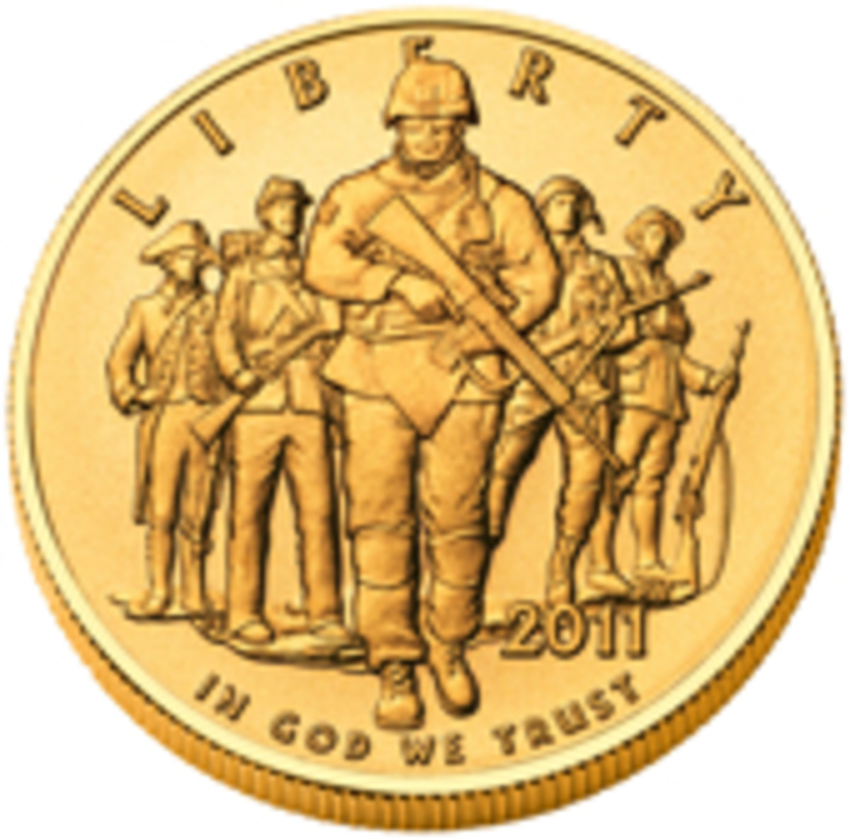 army commemorative coin