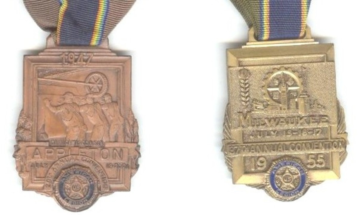 American Legion Convention Medals