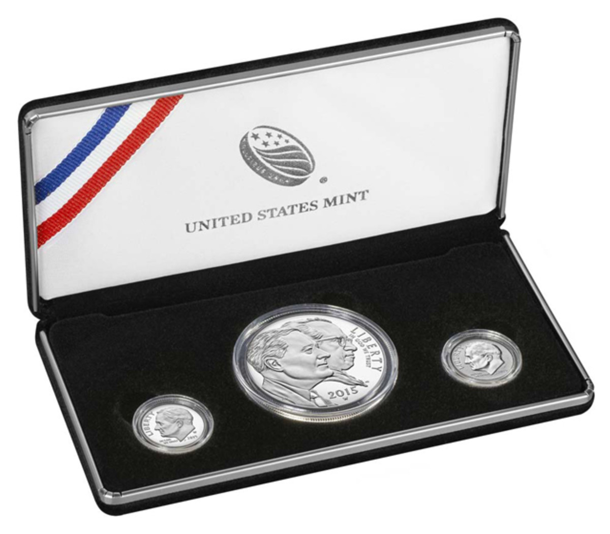 In eight days this three-coin set sold out.